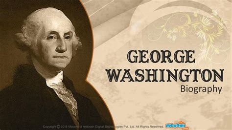 Biography George Washington Video | 17 best images about short biographies for kids on