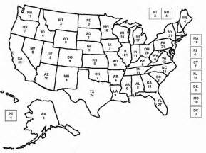 us map coloring page az coloring pages