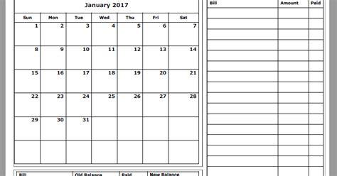 Budget Calendar 2017 Grace Christian Homeschool Free 2017 Budget Calendars