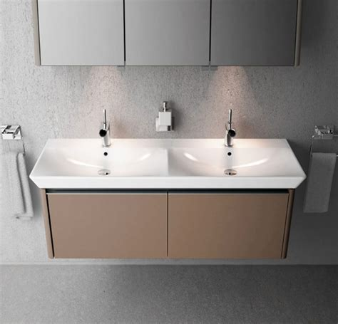 Two Basin Vanity Units by Vitra Designer Collection Of Bathroom Products Ukbathrooms