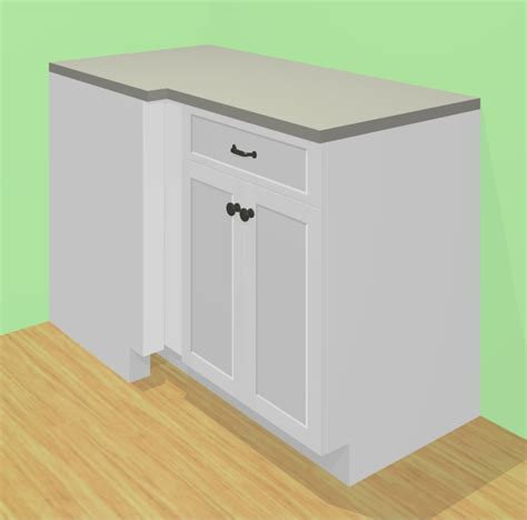 blind corner cabinet solutions the cabinotch 174 full access blind corner cabinet