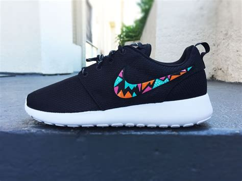 tribal pattern nike roshe womens custom nike roshe run sneakers triangle tribal