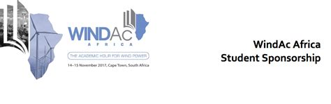 Mba Sponsorship South Africa by Windac Africa Student Sponsorship Program 2017 For