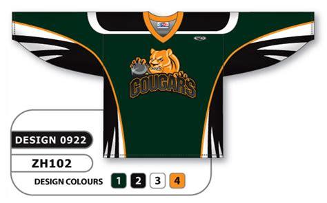 jersey design maker hockey cougars hockey custom hockey jersey