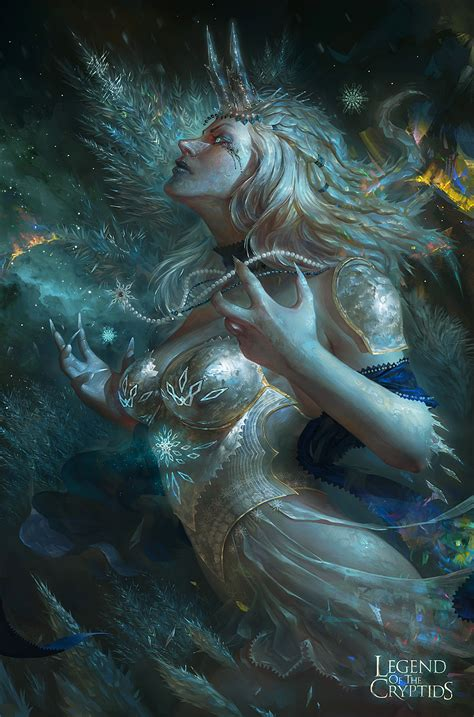 the fantasy art of fantasy art ice princess 2d digital fantasycoolvibe digital art