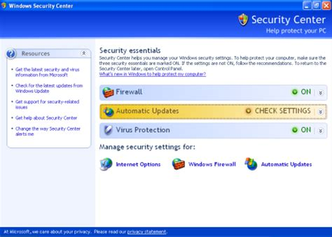 best firewall for xp check your xp firewall settings top windows tutorials