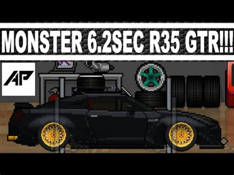 pixel car top pixel car racer 6 2sec nissan r35 gtr drag tune top