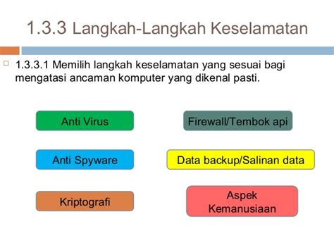langkah langkah keselamatan komputer