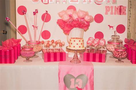 secret ideas s secret pink birthday ideas 13th