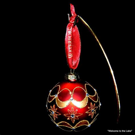 waterford holiday heirlooms christmas tree ornaments