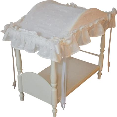 doll canopy bed vintage canopy doll bed with linens blomstrom antiques