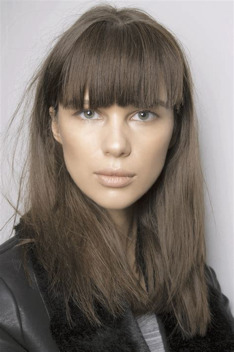 winter bangs 2015 hair trends 50 types of bangs for the fall winter 2015