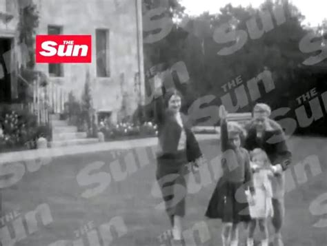 film of queen giving nazi salute queen elizabeth performs nazi salute as child video ny