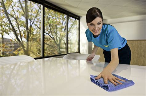 Cleaning Table by Commercial Cleaning Servicemaster Clean
