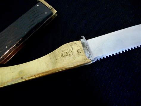 folding fishing knife 1925 antique kabar folding fishing knife