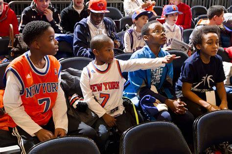 york knicks fans york knicks pre experiences garden of dreams