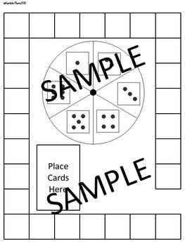 pre made blank board game templates by kembleflynn tpt