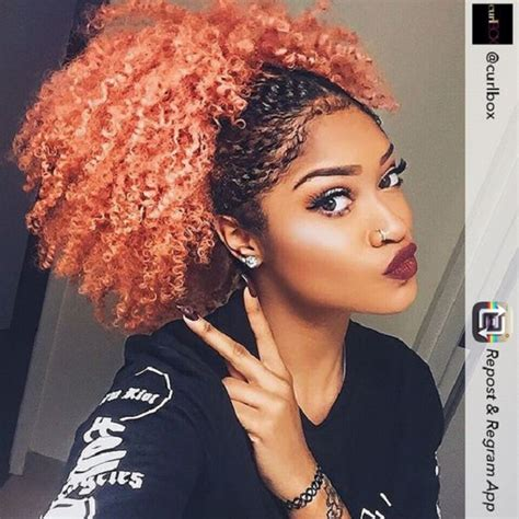 colored afro 20 hair colors you cannot miss this summer