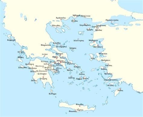 grecia antica grecia mappa citt 224