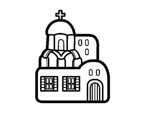 imagenes de iglesias catolicas para colorear dibujo de iglesia para colorear dibujos net