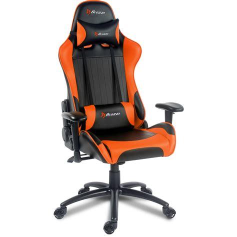 Orange Gaming Chair by Arozzi Verona Gaming Chair Orange Verona Or B H Photo