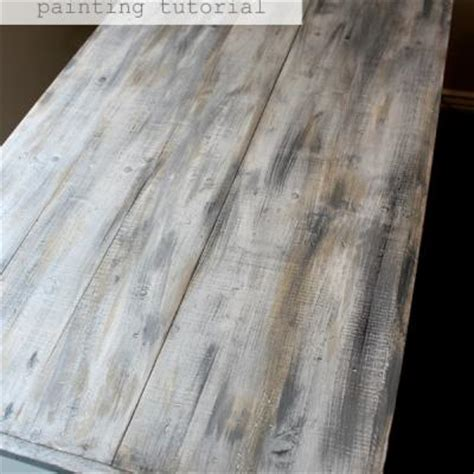 Distressed Painted Kitchen Cabinets by 20 Diy Faux Barn Wood Finishes For Any Type Of Wood