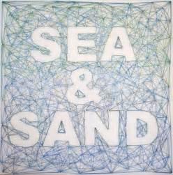 String art for a beachy room