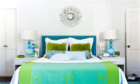blue and green bedroom key interiors by shinay not pink and beautiful bedrooms