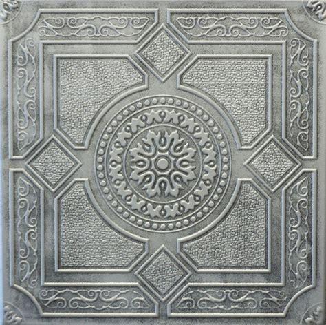 Beautiful Antiquefinish Ceiling Tile R30 Antique Silver Ebay Vintage Ceiling Tiles