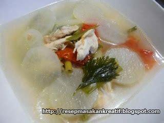 cara membuat soto ayam lobak resep soto ayam bandung enak sederhana aneka resep
