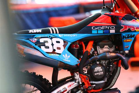 troy lee design graphics ktm troy lee designs red bull ktm score top 10 moto finishes