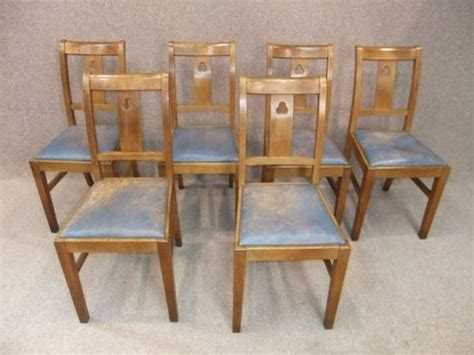 Arts And Crafts Dining Chairs Oak Arts And Crafts Dining Chair Antiques Atlas