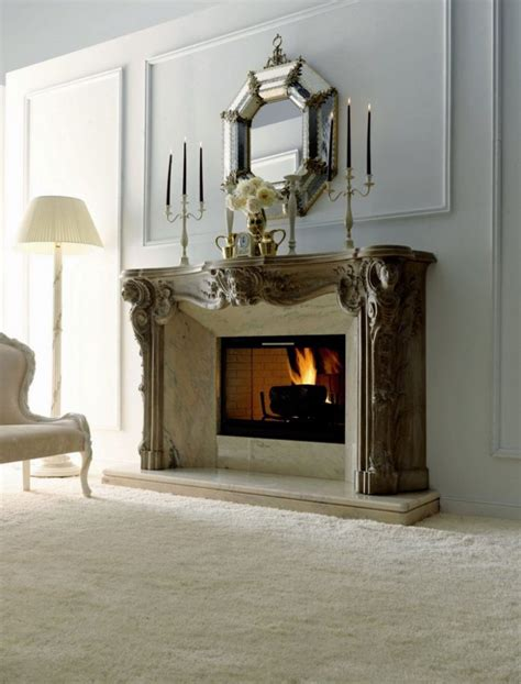 decorating a fireplace wall decoration decorate fireplace using wall mirror ideas