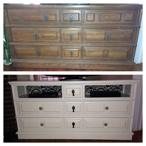 Turn Dresser Into Tv Stand by Pin By Greiner On I Did It