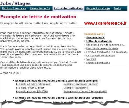 Lettre De Motivation Demande De Visa Tudiant Belgique modele lettre de motivation pour d ete etudiant
