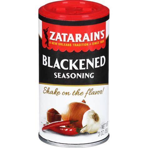 zatarain s blackened seasoning 3 oz walmart com