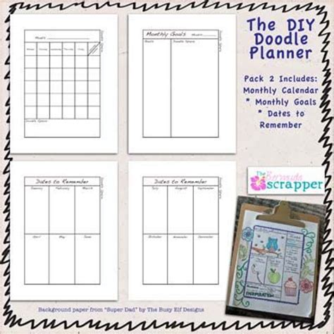 doodle schedule organizer 17 best images about diy planner on printable