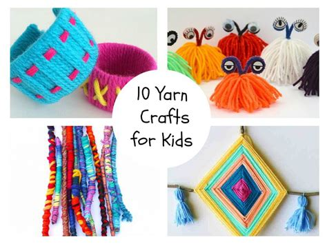 crafts with yarn for 10 yarn crafts for