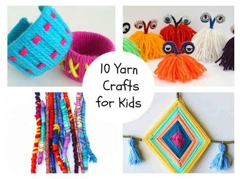 yarn craft for 10 yarn crafts for