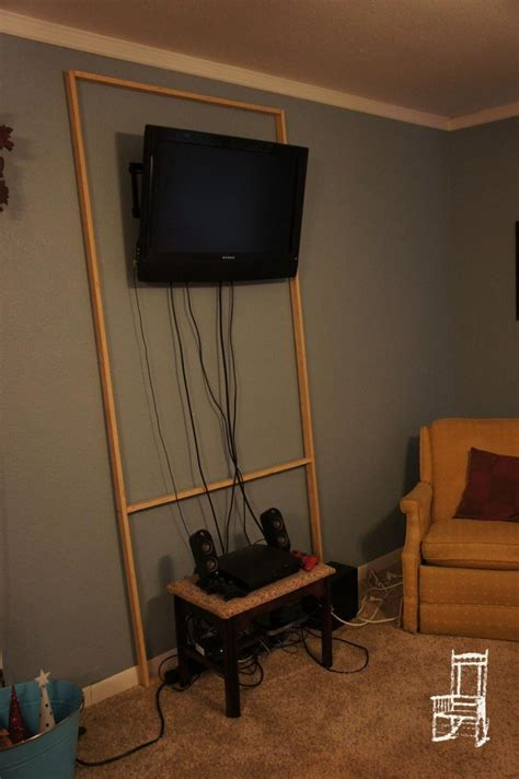 ways to mount a tv how to hide your tv cables the hard way the front poarch