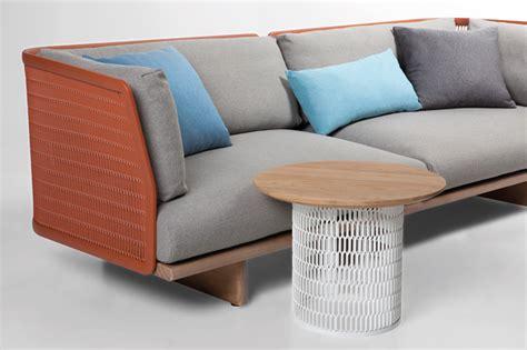 urquiola outdoor furniture urquiola creates contrasts with mesh outdoor furniture for kettal