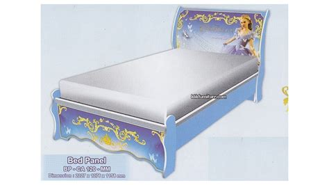 Ranjang Ukuran 120 ranjang bed panel anak bp ca 120 mm cinderella