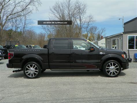Ford 4 Door Truck by 2010 Ford F 150 Harley Davidson Edition Crew Cab