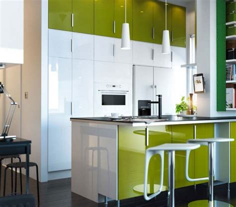 green white kitchen 2012 green and white ikea kitchen design ideas inspiring