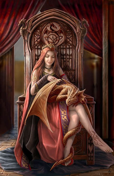 anne stokes art fan