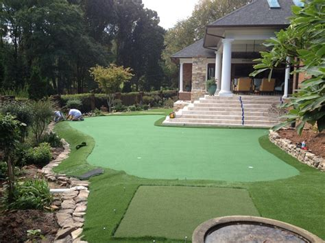 Backyard Golf by Make Backyard Golf Course Images Frompo