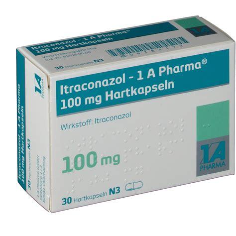 Itraconazol 100mg itraconazol 1a pharm 100mg shop apotheke