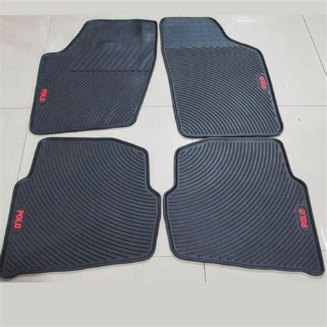 vw polo rubber mat special car mat slip resistant car mats