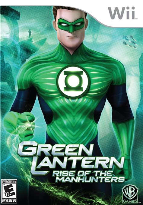 Green Lantern Rise Of The Manhunters Ps3 green lantern rise of the manhunters nintendo wii