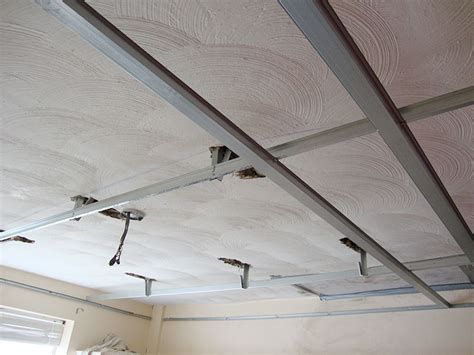 Ceiling Plasterboard by Suspended Replacement Ceilings